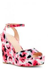 Kate Spade New York Dellie Printed Platform Wedge Sandal