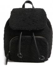 FOREVER 21 Faux Shearling Backpack