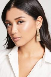 FOREVER 21 Abstract Drop Earrings