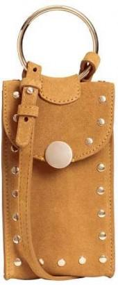 H&M Suede Phone Carry Case