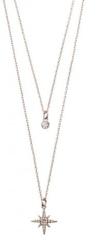 LC Lauren Conrad Runway Collection Starburst Layered Necklace