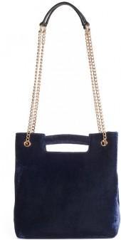 LC Lauren Conrad Runway Collection Carmine Velvet Convertible Crossbody Bag