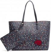 Starry Tote And Coin Purse