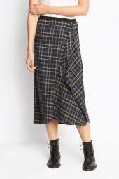 Vince Multi Plaid Skirt