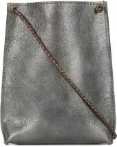B May metallic phone pouch