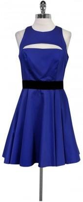 Milly Purple Flared Dress