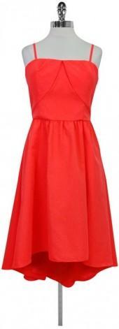 Ted Baker Neon Orange Dress