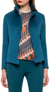 Akris Hello Seamed Cashmere Jacket, Seabiscuit