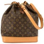 Monogram Canvas Noé Shoulder Bag