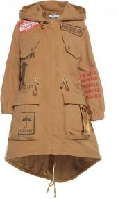 Moschino Patches Cotton Parka