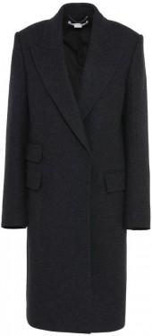 Stella McCartney ilma gray wool coat