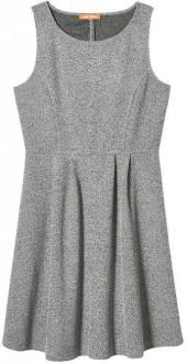 Joe Fresh Women's Princess Seam Sleeveless Dress, Grey Mix (Size L)