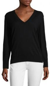 Cashmere Dropped Shoulder Sweater