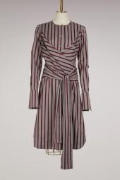Victoria Victoria Beckham Tie shirt dress