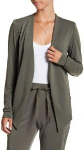 BCBGeneration Draped Open Blazer