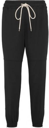 Bassike - Cotton-blend Track Pants - Black
