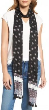 Women's Rebecca Minkoff Ditsy Floral Skinny Scarf