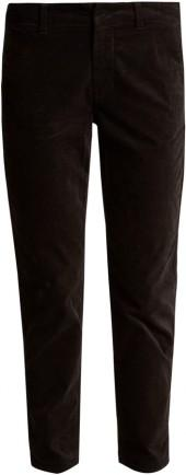 VINCE Slim-leg corduroy chino trousers
