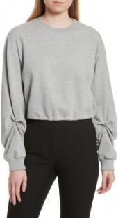 Women's 3.1 Phillip Lim Pierced Sleeve Sweatshirt