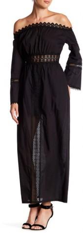 ZOE Peasant Maxi Dress