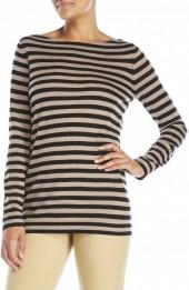 eileen fisher Stripe Wool Tunic Sweater