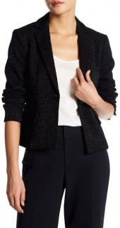 Nanette Lepore Lady Di & I Textured Jacket