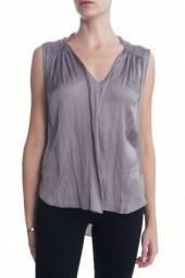 Raquel Allegra Sleeveless Blouse Ash