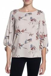 Cooper & Ella Kate Everywhere Blouse Floral Birds