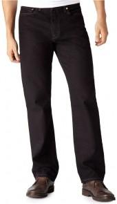 Levi's Jeans, 550 Relaxed Fit, Black Out