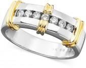 Men's 14k Gold Diamond Ring (1/3 ct. tw.)