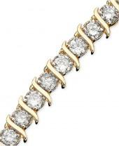 Macy's Diamond Bracelet, 10k Gold Diamond (5 ct. t.w.)