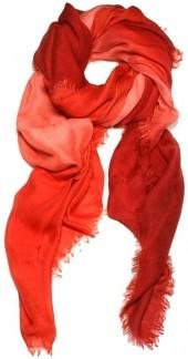 Dream Scarf - Red Ombre