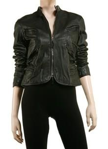 Soft Leather Moto Goddess Jacket