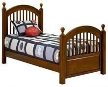 American Spirit Kids Bed, Twin Low Poster Bed