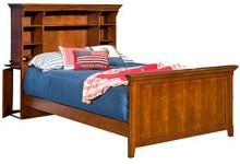 American Spirit Kids Bed, Full Bookcase Bed