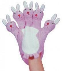 Kingsley Rabbit Terry Wash Glove