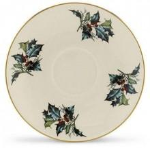 "Lenox ""Winter Greetings"" Teacup Saucer"
