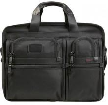 Tumi 'Alpha - Large' Expandable Organizer Computer Briefcase