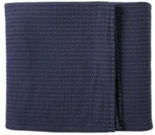 Navy Pickstitch Matelasse