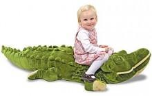 Melissa & Doug® Plush Alligator Stuffed Animal