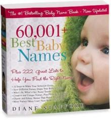 60,001+ Best Baby Names Book