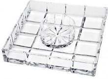 Godinger Crystal Server and Bowl- Set of 2