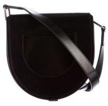 Lemaire Leather Saddle Crossbody Bag