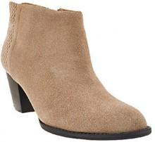 Vionic Orthotic Leather Ankle Boots - Bromley