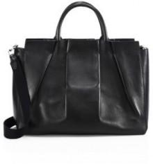The Row Nappa Peggy Leather Shoulder Bag