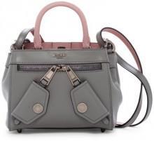 MOSCHINO B-Bag Leather Shoulder Bag