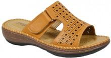 Tan Perforated Sandal