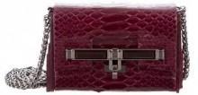 Kara Ross Python Mini Lux Bag
