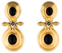 Fendi Glass Drop Earrings