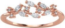 LC Lauren Conrad Cubic Zirconia Vine Ring